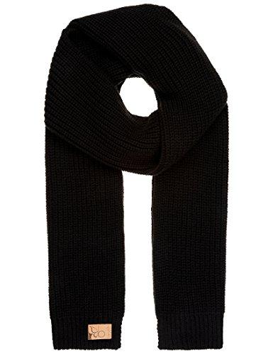Berydale Damen Strickschal, in verschiedenen Farben, Gr. One size, schwarz