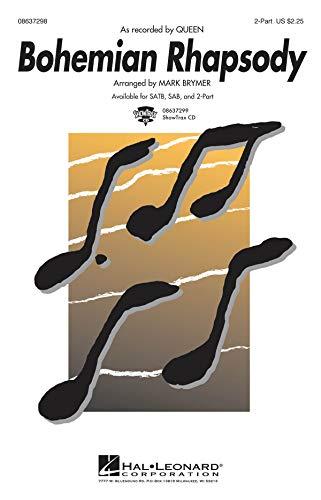 Bohemian Rhapsody - Soprano Voice - CHORAL SCORE