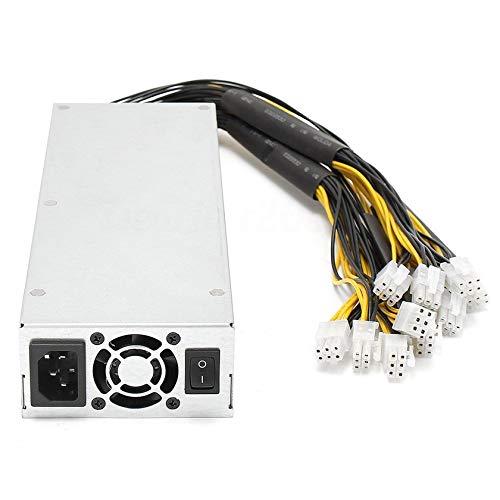 Stabile Leistung 1600 Watt Quiet Miner Power Supply Mining Machine Power Supply Geeignet für Bitcoin Miner S7