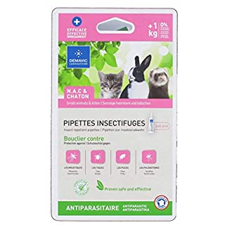 Demavic Pipettes Insectifuges N.A.C & Chaton +1 kg