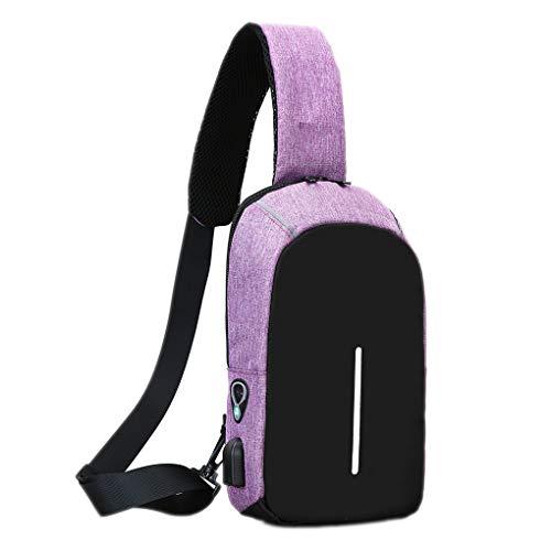 Preisvergleich Produktbild Royalr Männer Jungen Sling Bag Outdoor Schulter-Rucksack Brusttasche Umhängetaschen Wandern Radfahren Causal Daypacks