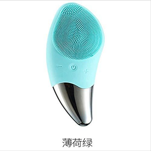 Akustische Vibration Silikon-reinigungsinstrument Gesichtsreinigungsgerät Elektrische...