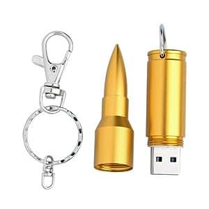 USB FLASH PEN DRIVE PENDRIVE PENNA 8GB FORMA PROIETTILE