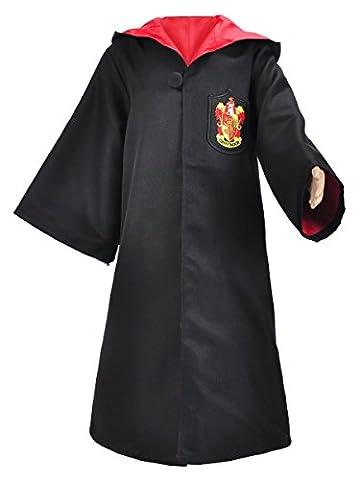 Harry Potter Gryffindor Kinder Mantel, Größe: 130 (Harry Potter Umhang)