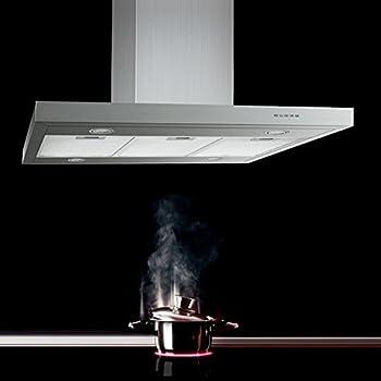 neg dunstabzugshaube neg36 abluft edelstahl inselesse mit led beleuchtung 90cm motorleistung. Black Bedroom Furniture Sets. Home Design Ideas