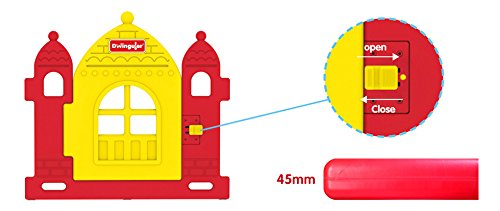 Dwinguler Castle Rainbow Playpen Child Lock Dwinguler Robust STABIL Secure door lock 3