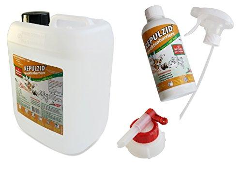 Bactenet Repulzid Insekten-Barriere 5500ml, Universal Insektenschutz Insektenmittel Insektenspray Schädlingsbekämpfung (Küche Nette Mit Teppichen)