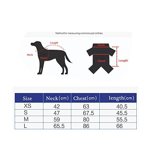 JunBo Dog Jacket with Harness Warm Coats and Jackets for Medium and Large Dogs 3