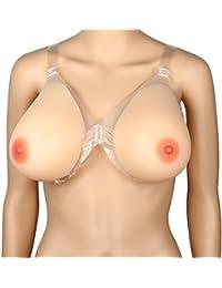 Kitchnexus 100% Silikon Brustprothese Für Mastektomie Transgender Cosplay Crossdresser Hautefarbe Tropfenform Körbchen A-D