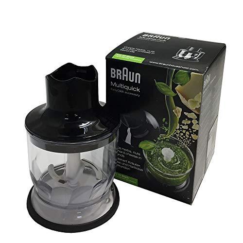 Braun Minipimer MQ20 Black - Accesorio minipicadora