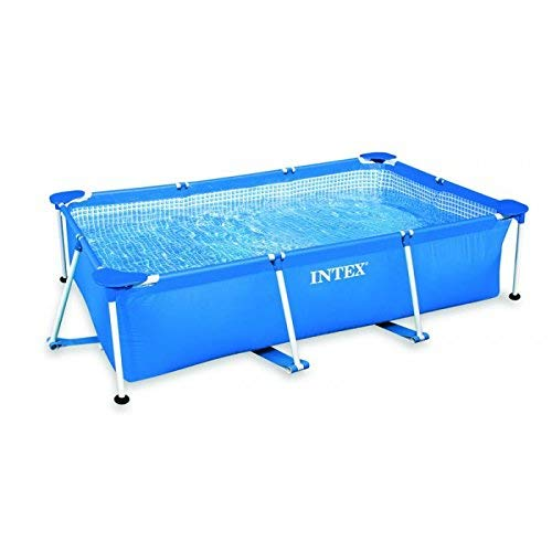 Intex 28275FS Tubulaire Rectangulaires Metal Frame Junior, 3.8 m3