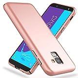 NALIA Custodia Protezione compatibile con Samsung Galaxy J6, Cover Ultra-Slim Hard-Case Rigida...