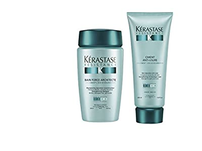 Kerastase Bain Force Architecte and Ciment Anti-Usure Duo