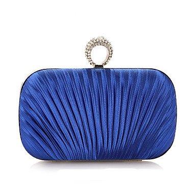 Frauen spezielle Material Event/Party/Hochzeit Abend Tasche Royal Blue