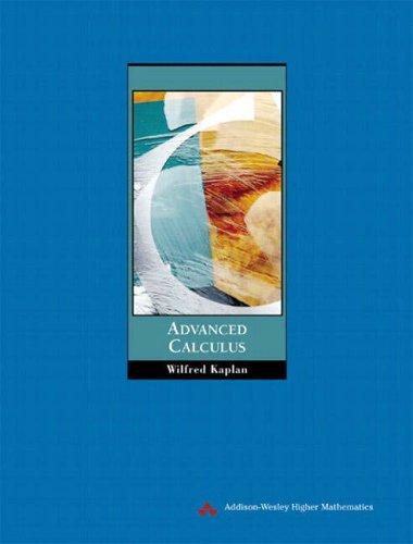 Advanced Calculus: International Edition