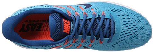 Nike Herren Lunarglide 8 Laufschuhe Blau (Chlorine Blue/Binary Blue-Industrial Blu)
