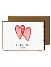 I Love You Always Credit Card Wallet By Robobull