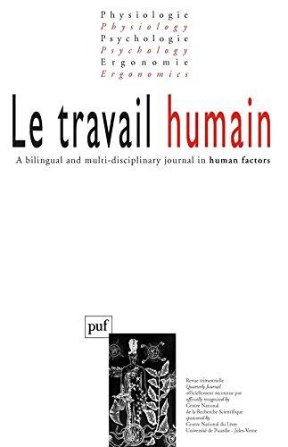 Le travail humain 2008 N° 3 Vol. 71 par Collectif