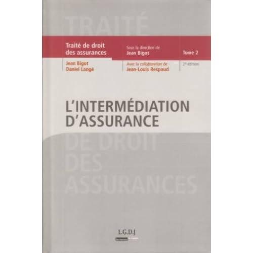 L'intermédiation d'assurance