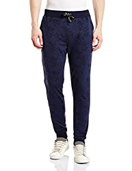 John Players Mens Joggers (8907482001209_JCMCTPA160012002_30W x 36L_True Navy)