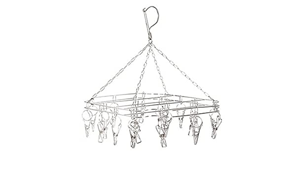 Chic Queen® Durable Stainless Steel Laundry Clothesline Hanging ...