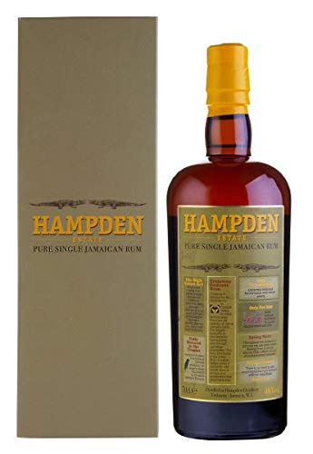 Hampden Estate HAMPDEN ESTATE Pure Single Jamaican Rum Dark, 0.7 l