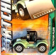 MATCHBOX MBX NATIONAL PARK TRACTOR PLOW 114 OF 120 by MATCHBOX