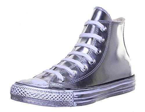 CONVERSE Chaussures HI CHROME - Argent silberfarben