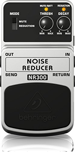 Behringer NOISE REDUCER NR300 Noise ReductionEffektpedal - Gate Guitar Noise Pedal