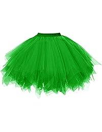 DresseverBrand Damen Petticoat 50er Rockabilly Jahre Retro Tutu Ballet  Tüllrock… a3c991d428