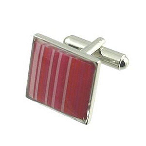 Manschettenknöpfe Manschettenknöpfe Muster Rosa~~ Streifen Tapete Manschettenknöpfe wählen Sie Geschenk Tasche