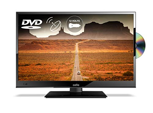 Cello C16230FT2 16� Full HD 12-Volt LED TV with built-in DVD Player and Freeview T2 HD � UK Made