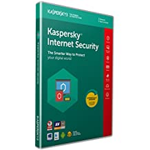 Kaspersky Internet Security 2019 | 3 Devices | 1 Year | PC/Mac/Android | Activation Code by Post