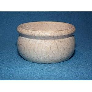 Teelichthalter rund Kerzenhalter aus Buche Teelicht Tülle Holz