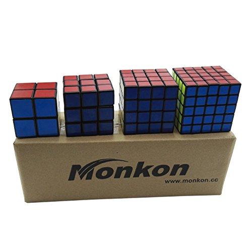 Preisvergleich Produktbild Monkon 2x2x2 3x3x3 4x4x4 5x5x5 Intelligenz Geschwindigkeit Puzzle Cube Zauberwürfel