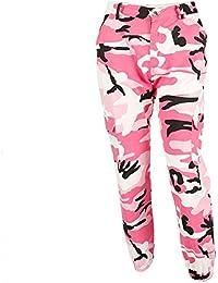 BURFLY Frauen Sport Camo Cargo Hosen 2018 Neue Jugend Outdoor Casual Camouflage Hosen Jeans