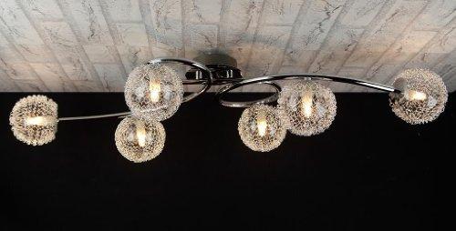Plafoniere E Lampadari Moderni : Trio lighting plafoniera art r lampadario moderno acciaio