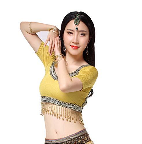 Indische Frauen Kopfschmuck Kopf Halskette Ohrringe Tikka Set Bollywood Mädchen Kette grün Kristall Stein (Grün)