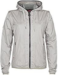 "XFORE chaleco chaqueta de golf ""Carlton"" con capucha mangas desmontables para mujer, col beige"