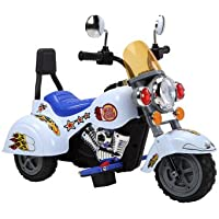 MINI HARLY STYLE KIDS RIDE ON ELECTRIC RECHARGEABLE MOTORBIKE+ mp3 input