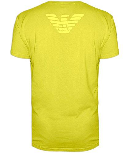 Emporio Armani Mens Traube Rundhals T-shirt Green