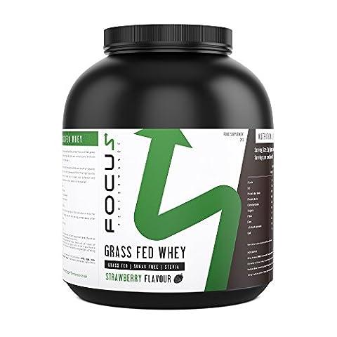 Grass Fed Whey (Chocolate Flavour - 2kg) - High Quality Sugar Free Whey Protein Powder