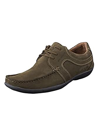 Woodland GC0592108W13 - Green Casual Shoes for Men
