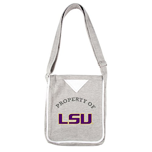 ncaa-lsu-tigers-womens-hoodie-crossbody-handbags-95-x-225-x-115-inch-gray-by-littlearth