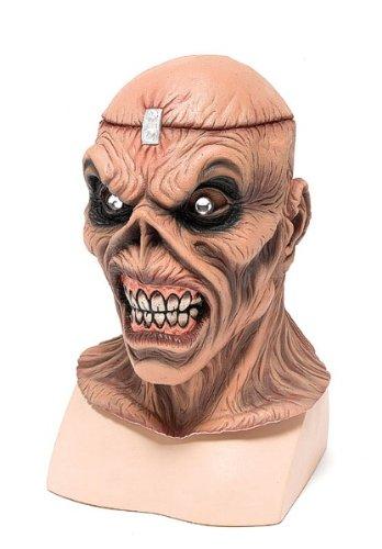 4Metall Kopf Maske, eine Größe (Metall Kopf Halloween Kostüm)