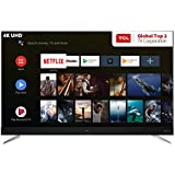 TCL 163.8 cm (65 inches) 4K Ultra HD Smart Certified Android LED TV L65C2US (Black)