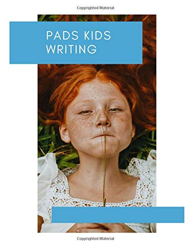 pads kids writing: Notebook lined large : lined paper elementary/ lined paper for first grade/ lined paper for kids/lined paper for kindergarten/lined ... paper kindergarten( writing paper with lines) Lcd-sheet