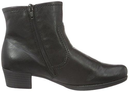 Rieker 76698, Bottes Classiques Femme Noir (Schwarz/Grau/00)