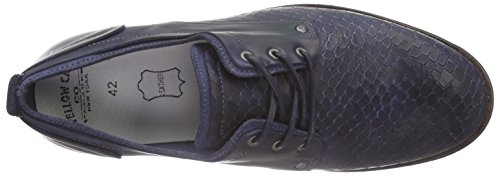Yellow Cab Herren Fact M Derby Blau (Dark Blue)