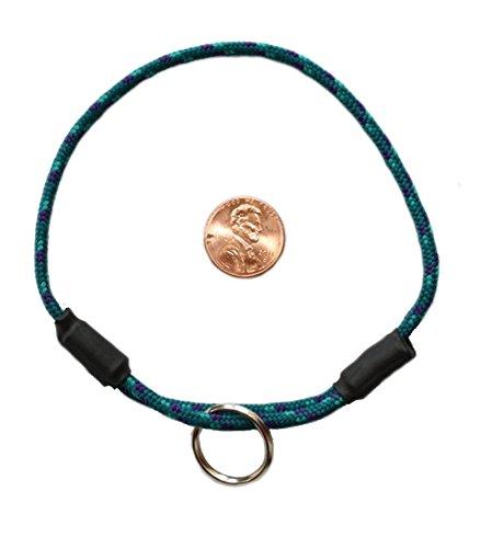 National Leash Hundehalsband, dünn, Bergseil, Glacier Small/Toy Size - Das Original Snickers Halsband